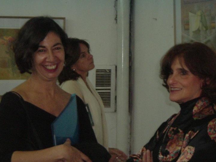 Con Inés Talón