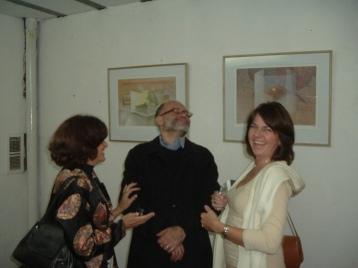 Con Néstor Otero y María Marta Stier