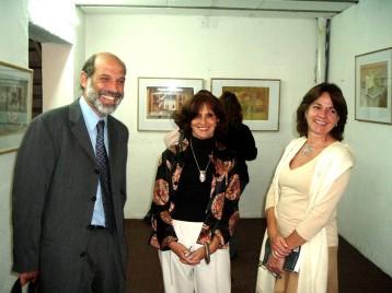 Con Ricardo y María Marta Stier
